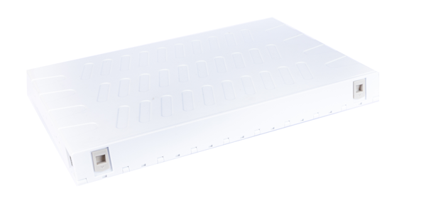 ABS, Sliding Fiber patch panel, with front faceplate 24 port LC Duplex-img-2
